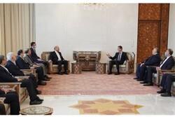 Ghalibaf tells Assad Iran-Syria coop. to boost in next 4 yrs