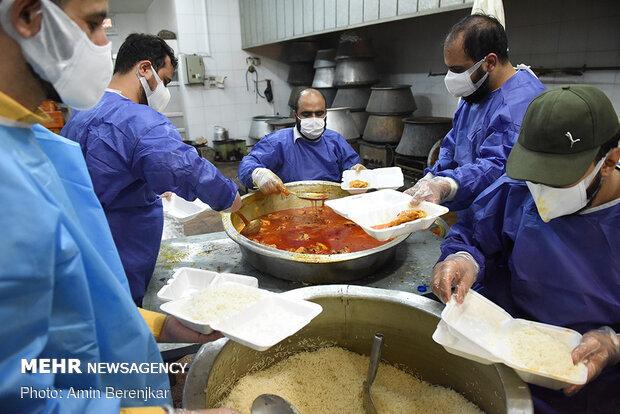 توزیع ۳۱۳ هزار پرس غذای گرم در استان همدان به مناسبت عید ولایت