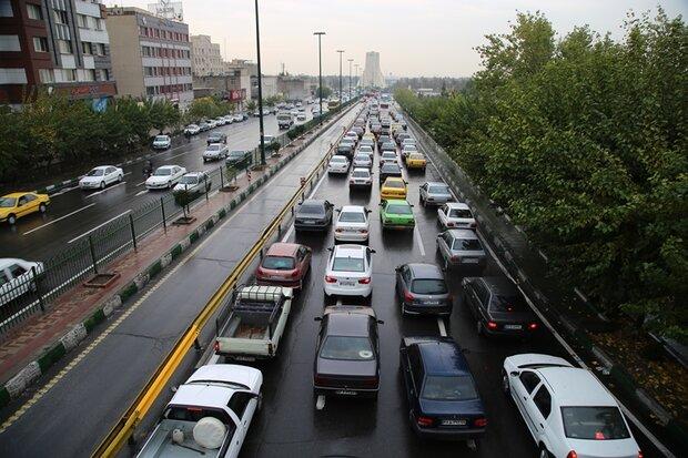 ترافیک سنگین صبحگاهی در اکثر معابر پایتخت