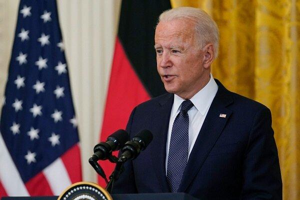US president Biden threatens Russia to war