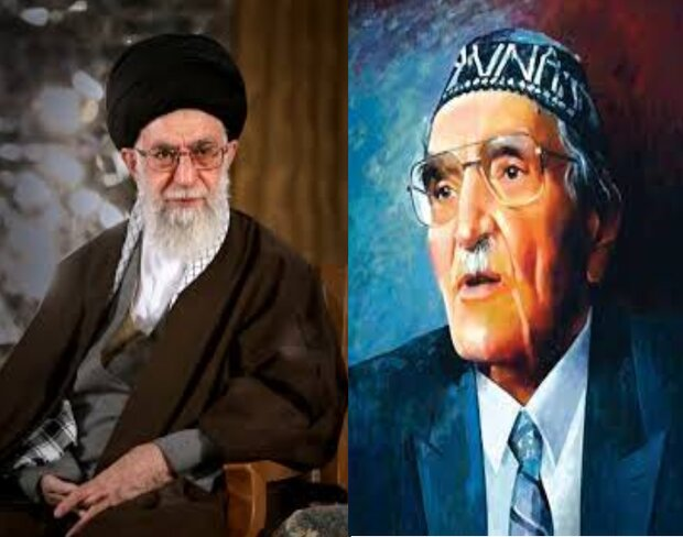 """خلجات """"النهر العراقي الثالث"""" عن قائد الثورة الإسلامية في إيران"""