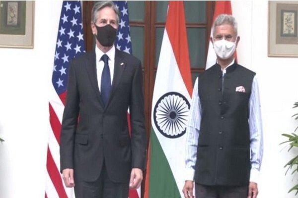بلینکن با همتای هندی دیدار کرد