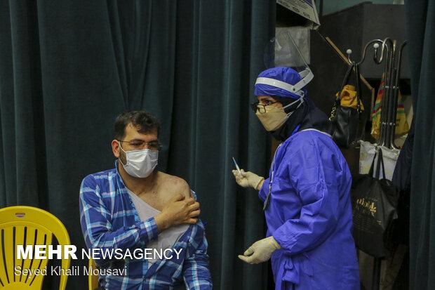 Vaccination of media members in Khuzestan