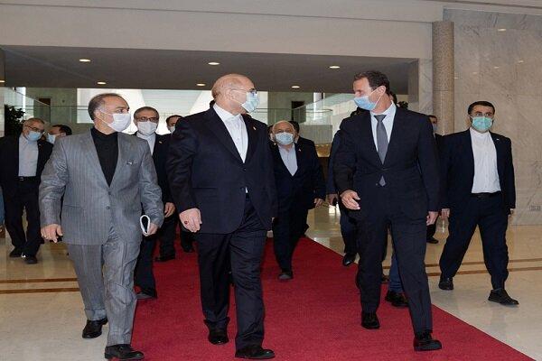 بشار الاسد: إيران شريك أساسي لسورية