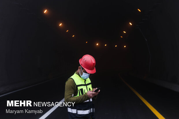 Constructing ME longest tunnel in north of Iran