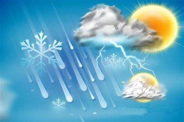 احتمال بارش باران وآبگرفتگی معابر در نواحی شمالی کرمانشاه
