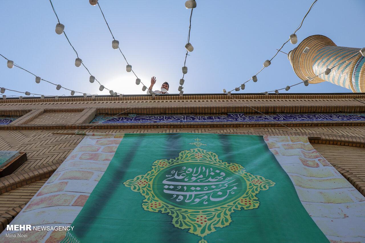 برگزاری مراسم عید غدیر در ۴۵ بقعه متبرکه البرز