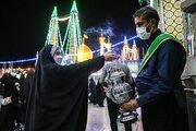 قم میں حرم مطہر میں عید غدیر کی مناسبت سے محفل جشن و سرور منعقد
