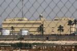 استهداف السفارة الامريكية في بغداد بصاروخي كاتيوشا
