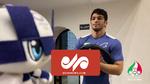 عروسک المپیک به سالن تمرین تیم ملی کشتی ایران رفت