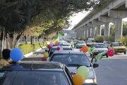 خیابانهای کرمانشاه میزبان کاروان خودرویی جشن عید غدیرخم