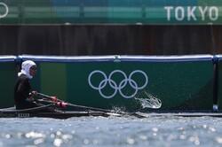 پایان کار بانوی قایقران ایران با کسب جایگاه یازدهم المپیک