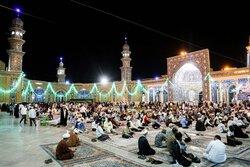 Eid Al-Ghadir celebrations at Hazrat-e Masoumeh holy shrine