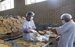 توزیع ۷۰۰۰ قرص نان در حاشیه شهر مشهد