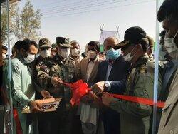 دومین بیمارستان دائمی و مجهز تنفسی ارتش در خاش افتتاح شد