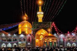Imam Reza Shrine on eve of Eid al-Ghadir