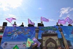 کاروان خودرویی غدیر در زنجان