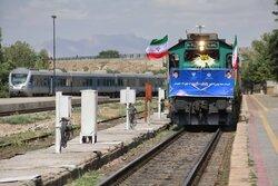 افتتاح ۱۰۶ کیلومتر از راه آهن زنجان - قزوین