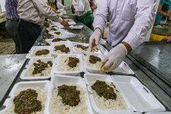 توزیع ۵۰۰ پرس غذای گرم در مناطق محروم شیراز