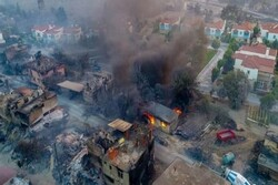 Turkey fights forest fires raging through country's south