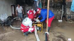 امدادرسانی به ۲۷ خانوار گرفتار در سیلاب گلستان