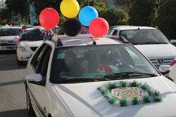 کاروان خودرویی جشن عید غدیر در کرمانشاه