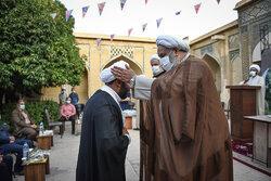 جشن عمامه گذاری جمعی از طلاب حوزه منصوریه شیراز