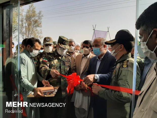 افتتاح دومین بیمارستان تنفسی ۶۰ تختخوابی نیروی زمینی ارتش  -  خاش