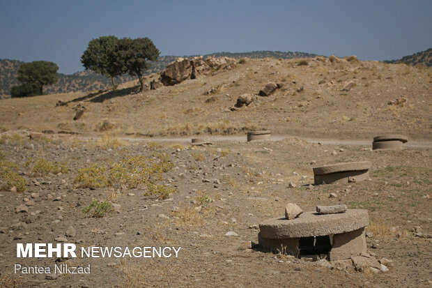 قنات خشکشده روستای «کل گچی»