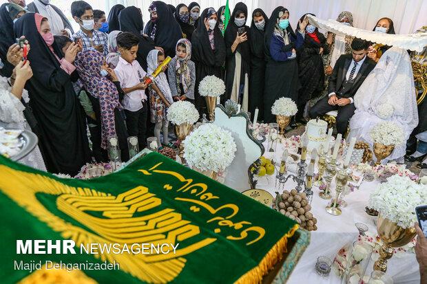 طبخ و توزیع غذای حضرتی امام رضا در یزد