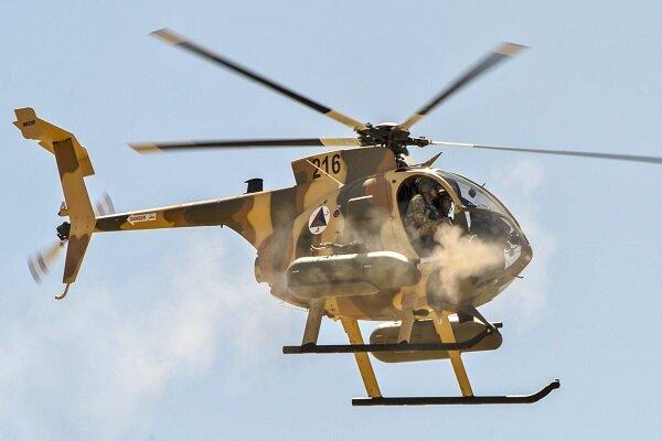 فرود اضطراری بالگرد ارتش افغانستان نزدیک فرودگاه شهر لشکرگاه