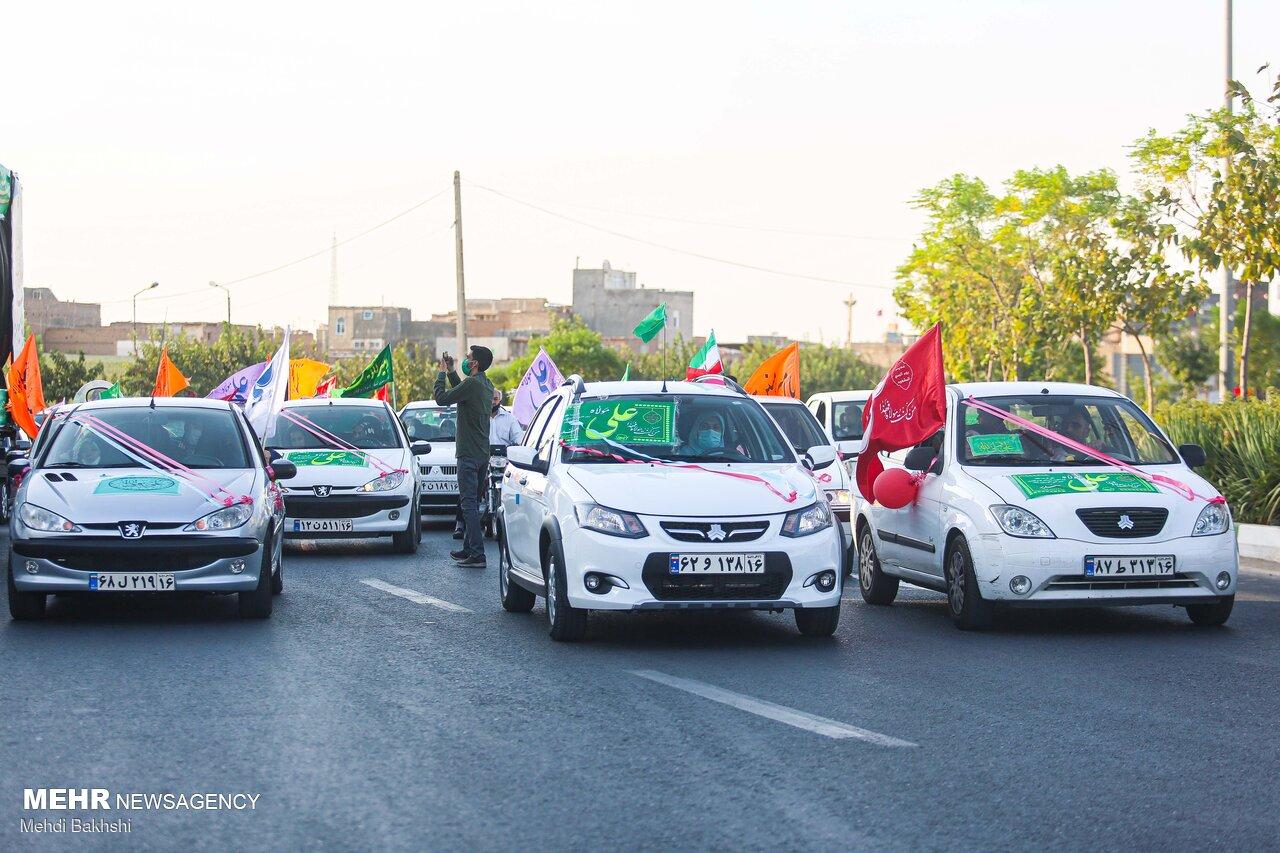 کاروان خودرویی عید غدیر در مازندران