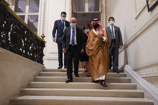 محورهای دیدار وزرای خارجه فرانسه و عربستان