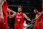 احتمال خداحافظی صمد نیکخواه بهرامی از تیم ملی بسکتبال ایران