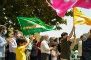 Kazvin eyaletindeki Gadir-i Hum etkinliğinden fotoğraflar