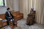 وزیر اطلاعات با آیتالله جوادیآملی دیدار کرد