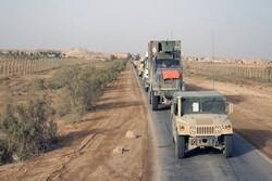 Iraqi media say US convoy attacked in Babil province on Fri.