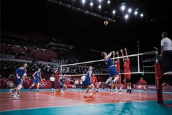 Iran volleyball defeated by Italy in 4 sets