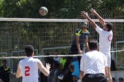 نخستین دوره قهرمانی والیبال پارکی خراسان شمالی برگزار شد