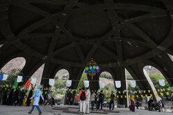 «گزارش یک جشن» در تپه نورالشهدای کلکچال