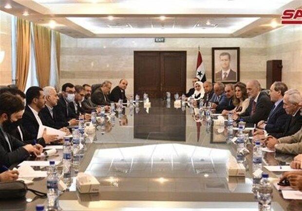 العلاقات السورية الإيرانية أصبحت نموذجاً يحتذى به في كل المجالات