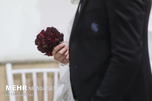 جشن ازدواج آسان در شب عید غدیر
