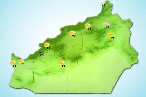 باران و باد مهمان استان سمنان شد/ کاهش محسوس دما در ارتفاعات