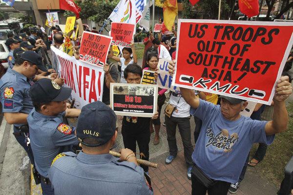 فیلیپین بر سر احیای معاهده نظامی با آمریکا به توافق رسید