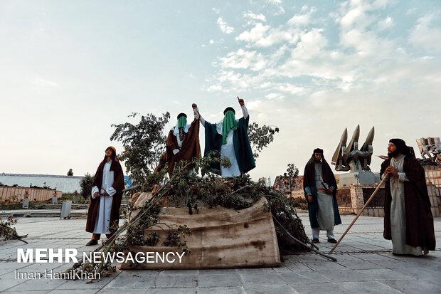 بازسازی واقعه غدیر خم در همدان