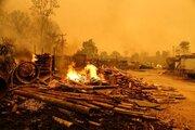 Türkiye'deki orman yangınlarından görüntüler