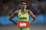 رقابت حسن تفتیان در دوی ۱۰۰ متر المپیک