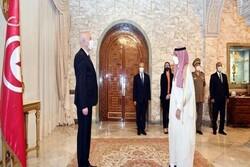 وزیر خارجه عربستان سعودی با رئیس جمهور تونس دیدار کرد