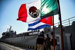 کشتی کمک های بشردوستانه مکزیک به کوبا رسید