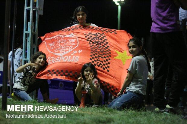 شادی هواداران پرسپولیس در ورامین